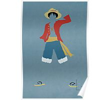 Monkey D Luffy Poster