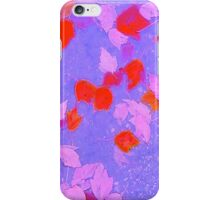 Purple And Red Autumn iPhone Case/Skin