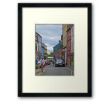 Kinsale - streetscape Framed Print