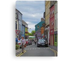 Kinsale - streetscape Canvas Print