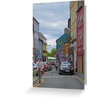 Kinsale - streetscape Greeting Card