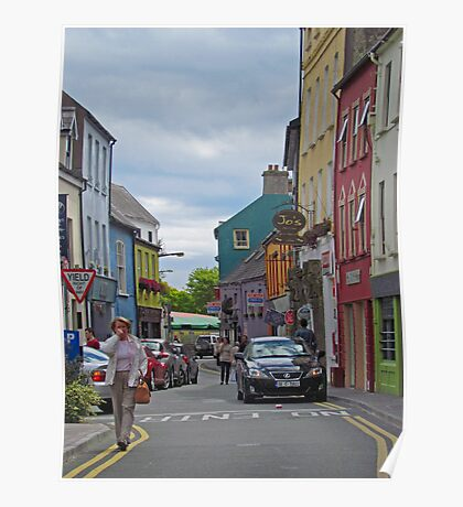 Kinsale - streetscape Poster