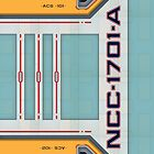 Star Trek - NCC-1701-A Hull iPhone Case by Jon Kolton