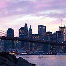New York Brooklyn Bridge by Johnathan  Au