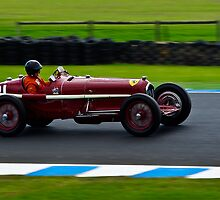 Peter Giddings - 1932 Alfa Romeo Tipo B by Steven Weeks