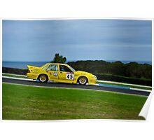 Adrian Allisey, ex-Smerdon/Hinton/Turpin 719 Holden Commodore VL Poster