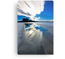 sky reflection Metal Print