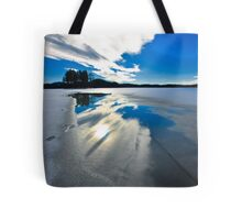 sky reflection Tote Bag