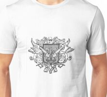 Steampunk Coat of Arms Unisex T-Shirt