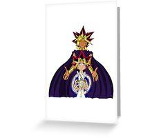 The magic of Yu-Gi-Oh! Greeting Card