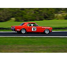 Harry Bargwanna 1964 Ford Mustang - Group Nc  Photographic Print