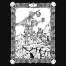 Zombie Tarot:  Fool by ZugArt