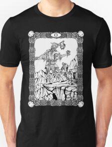 Zombie Tarot:  Fool T-Shirt