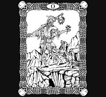 Zombie Tarot:  Fool Unisex T-Shirt
