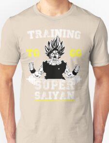 TRAINING TO GO SUPER SAIYAN WHITE T-Shirt