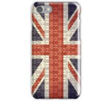 Union Flag/Sherlock wallpaper iPhone Case/Skin