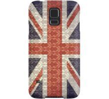 Union Flag/Sherlock wallpaper Samsung Galaxy Case/Skin