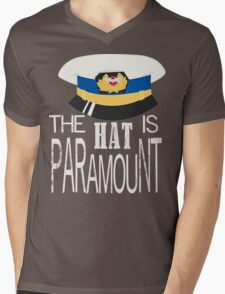 The Hat is Paramount Mens V-Neck T-Shirt
