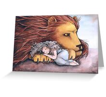 Daughter of a Lion Greeting Card