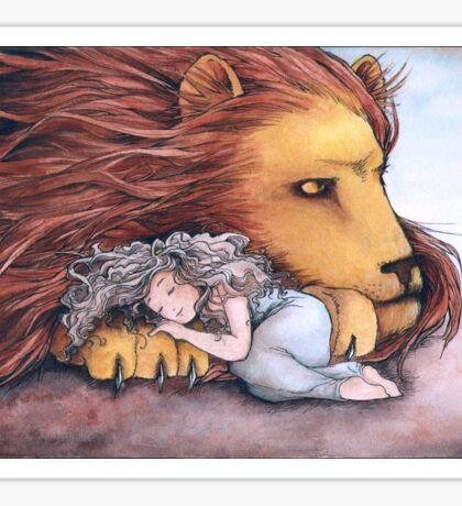 Daughter of a Lion Sticker
