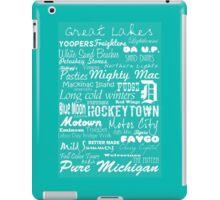 Michigan iPad Case/Skin