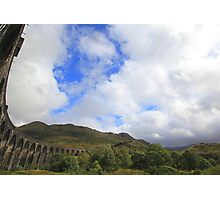 glenfinnan viaduct, western scotland Photographic Print