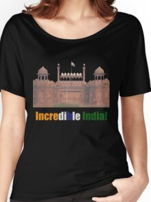 Incredible India - T-Shirt Women's Relaxed Fit T-Shirt