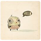 Hello by menulis