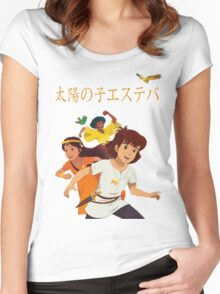 Esteban, Child of the Sun Women's Fitted Scoop T-Shirt