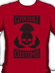 Clydebuilt Customs (black) T-Shirt