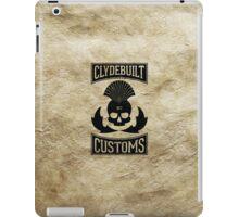 Clydebuilt Customs (black) iPad Case/Skin