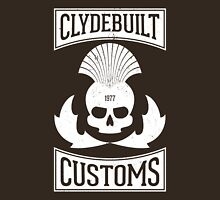 Clydebuilt Customs (white) Unisex T-Shirt