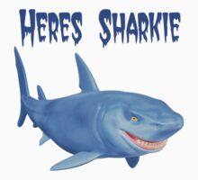 Heres Sharkie Kids Tee
