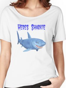 Heres Sharkie Women's Relaxed Fit T-Shirt