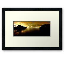 Lake Providence Framed Print