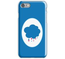 Grumpy Bear Symbol iPhone Case/Skin