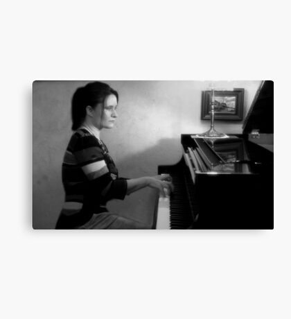 Lost in music Canvas Print