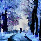 Winter Blues by DiNovici