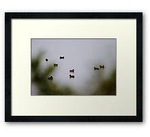 One Foggy Christmas Morning Framed Print