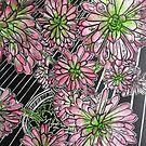"""CACTI  EXTRAORDINAIRE. by Belinda """"BillyLee"""" NYE (Printmaker)"""