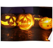 Halloween Lanterns Poster
