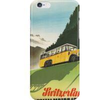 Vintage poster - Switzerland iPhone Case/Skin