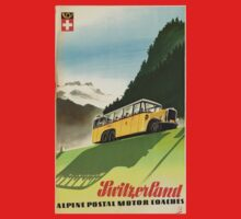 Vintage poster - Switzerland Kids Clothes