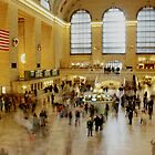 Grand Central Station rush hour by copacic