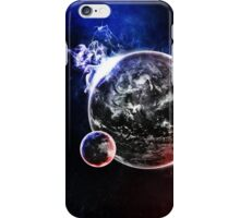 Beautiful Alien Planet and Moon iPhone Case/Skin