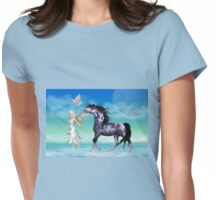 A Magical Realm Womens Fitted T-Shirt