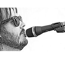 Chris Rockin' Photographic Print