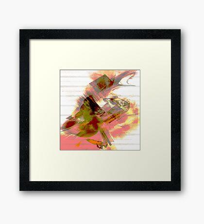 Mesmeric Framed Print
