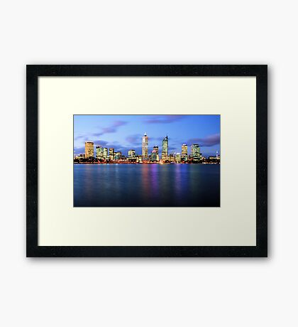 Perth..... Framed Print