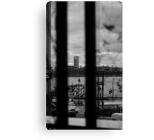 Hoboken from the High Line Canvas Print